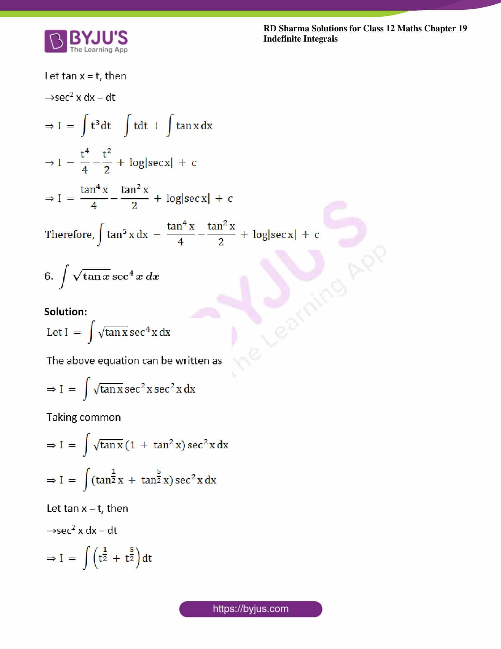 rd sharma class 12 maths solutions chapter 19 ex 11 5