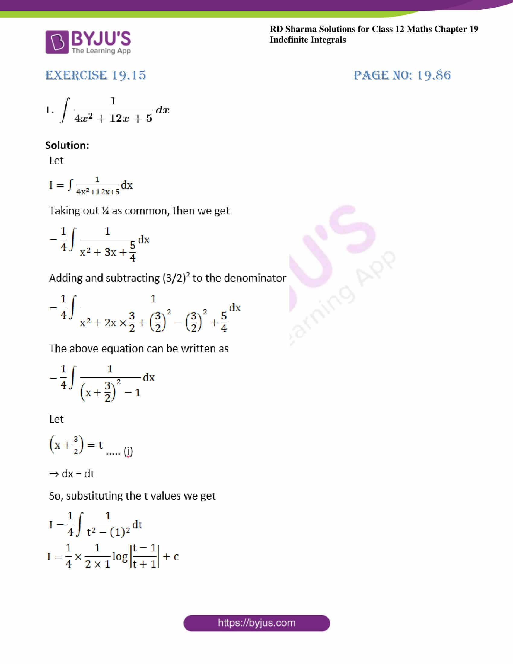 rd sharma class 12 maths solutions chapter 19 ex 15 1