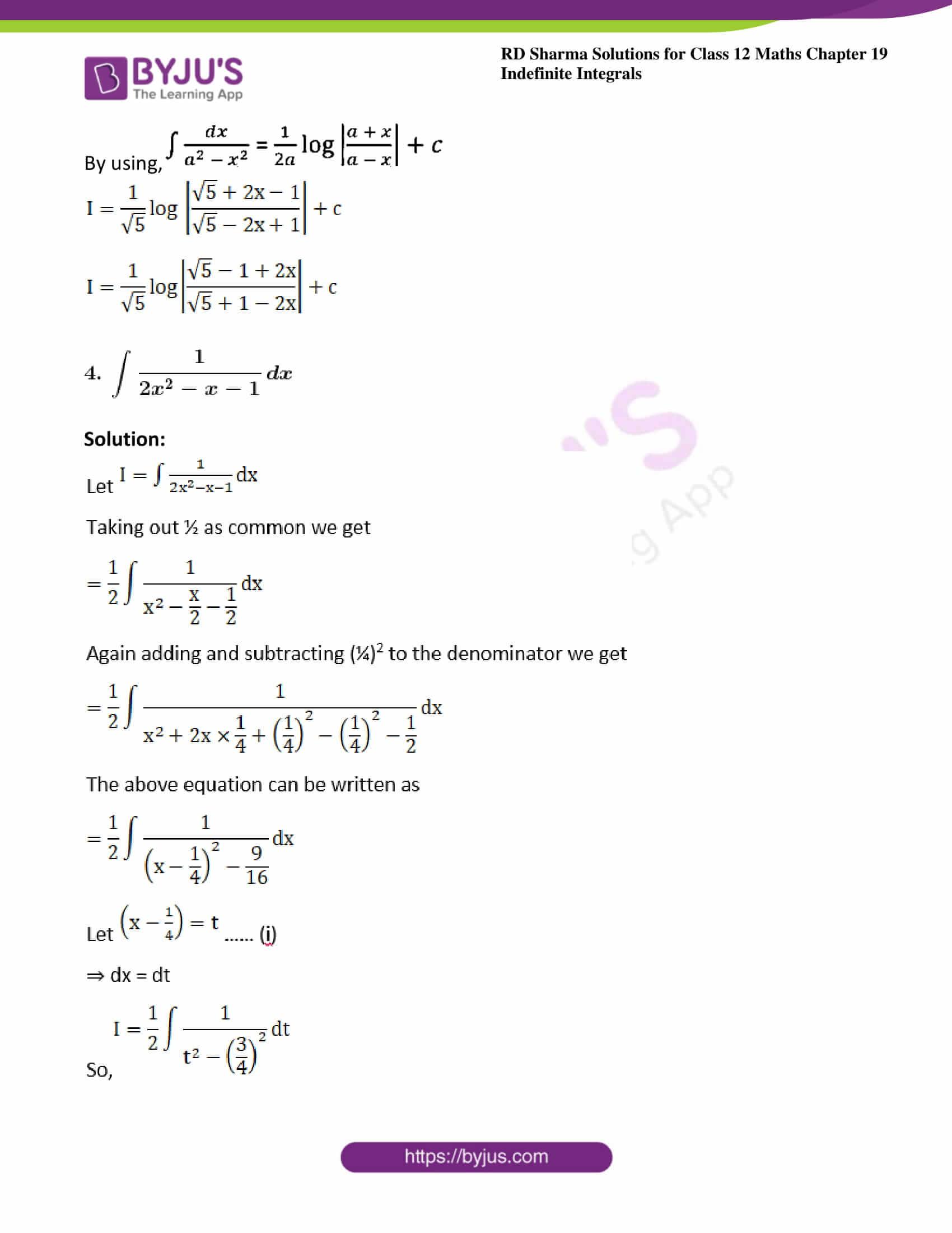 rd sharma class 12 maths solutions chapter 19 ex 15 4