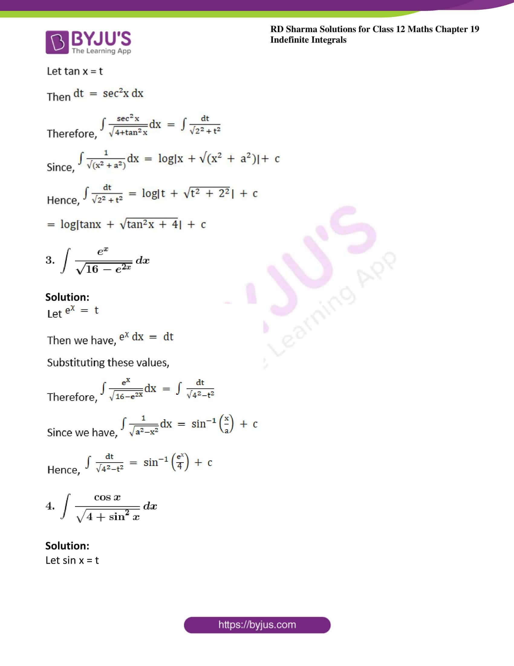 rd sharma class 12 maths solutions chapter 19 ex 18 2