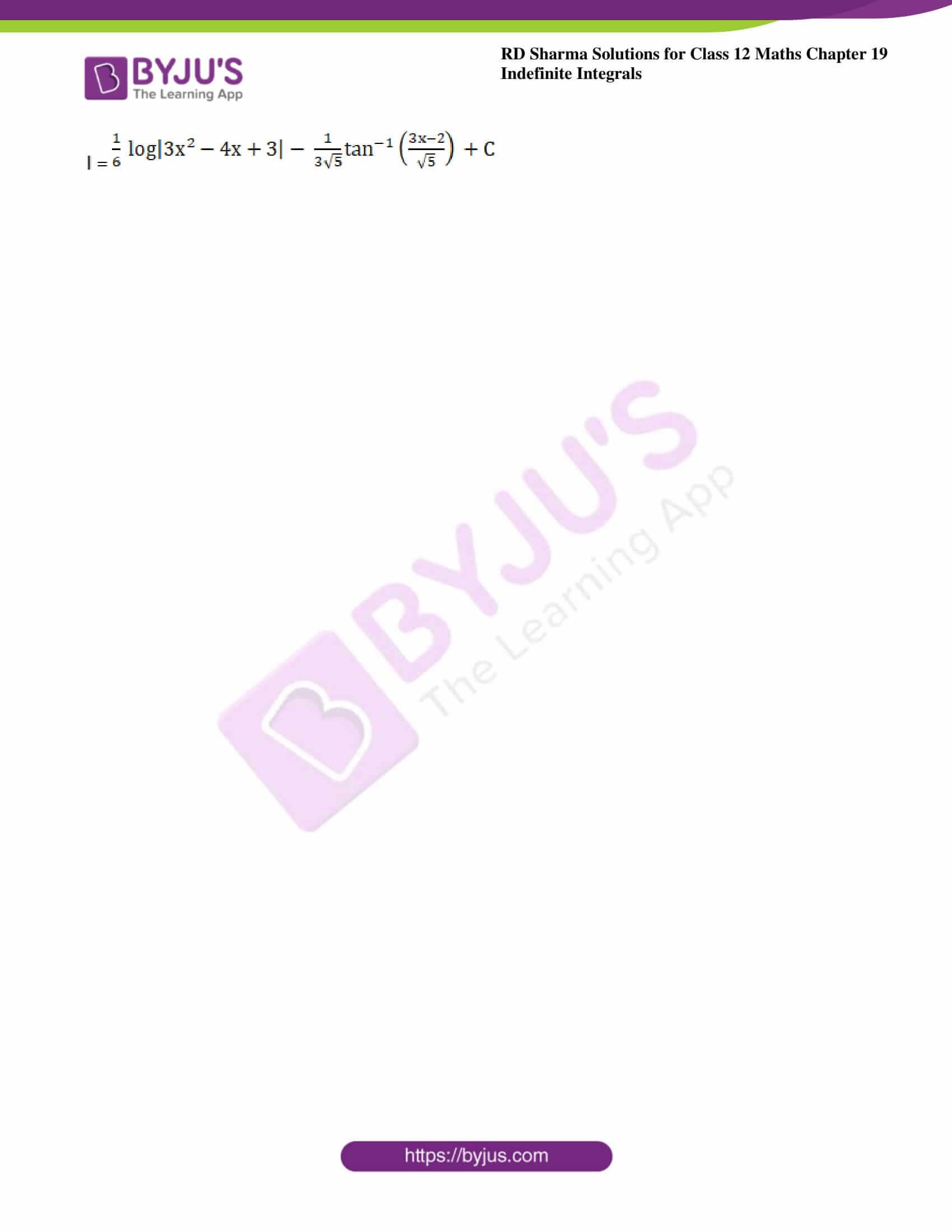 rd sharma class 12 maths solutions chapter 19 ex 19 12