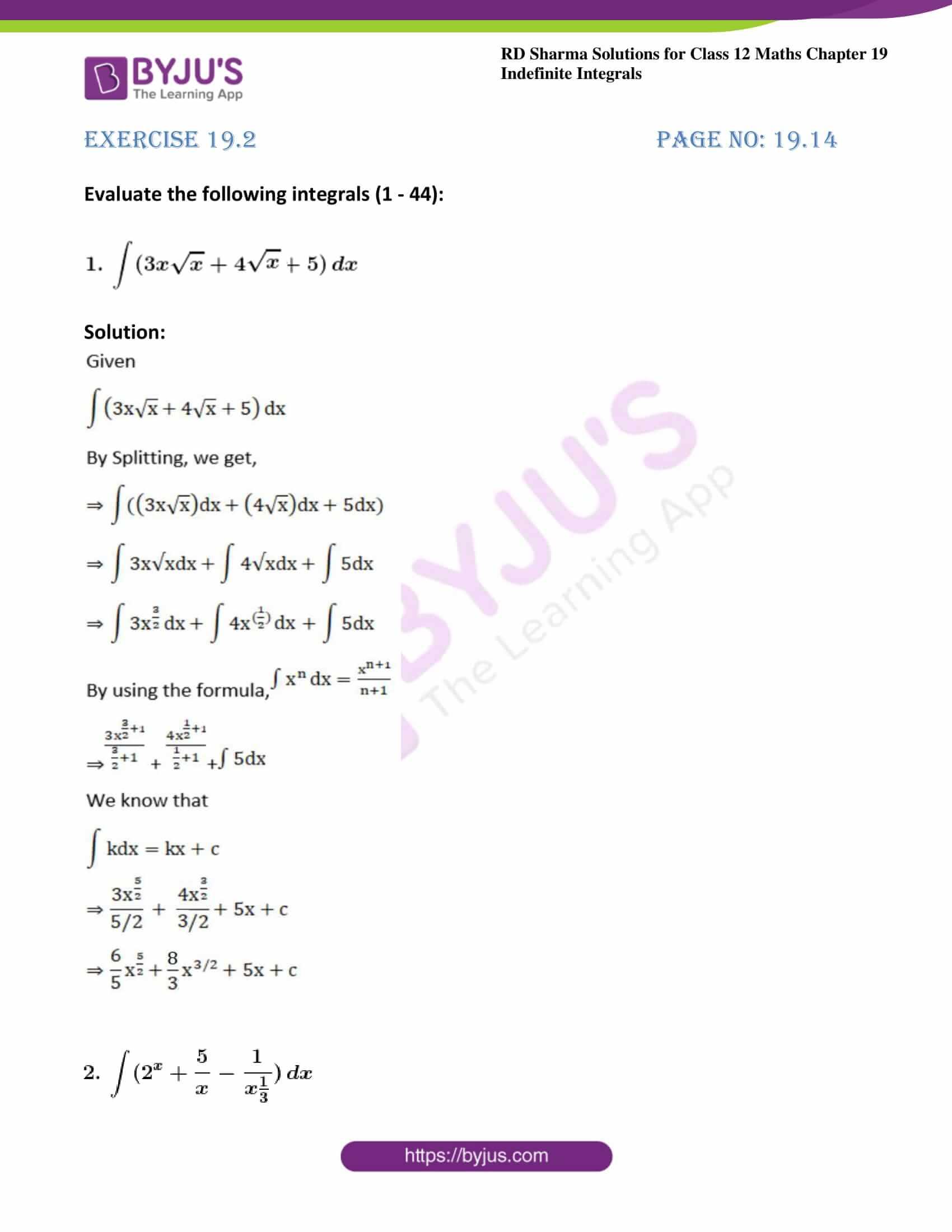 rd sharma class 12 maths solutions chapter 19 ex 2 01