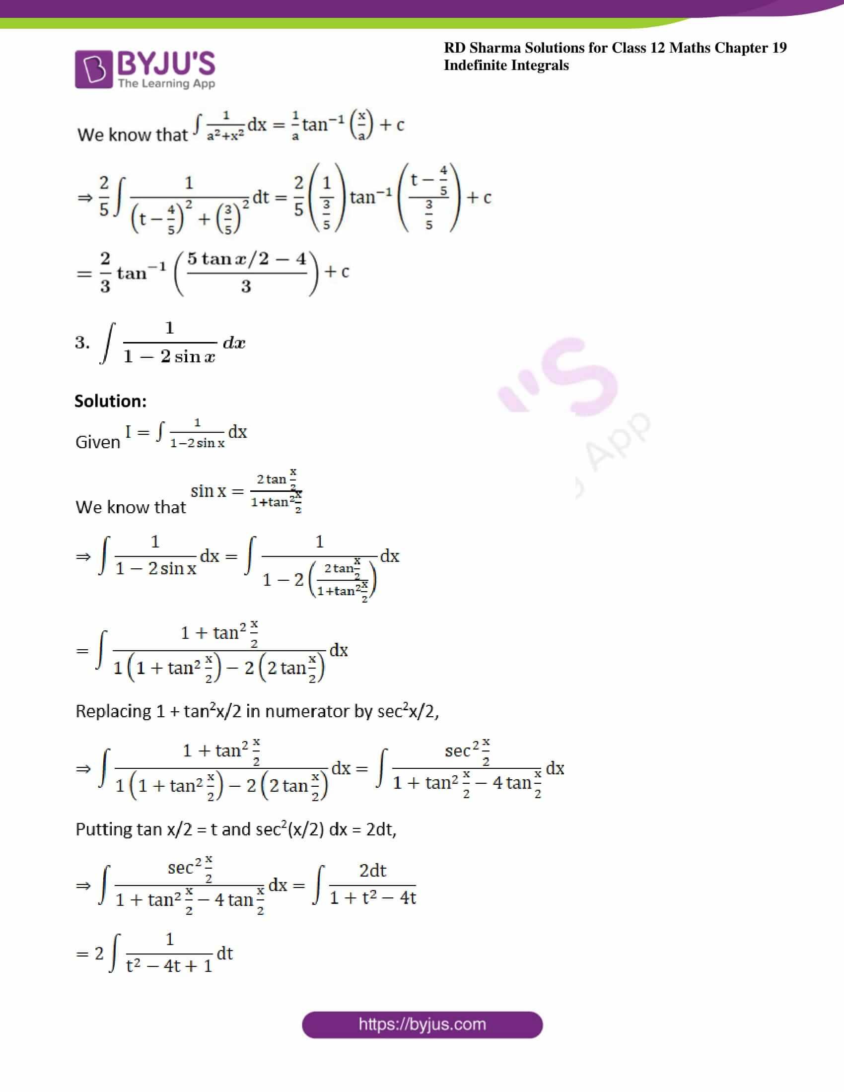 rd sharma class 12 maths solutions chapter 19 ex 23 3