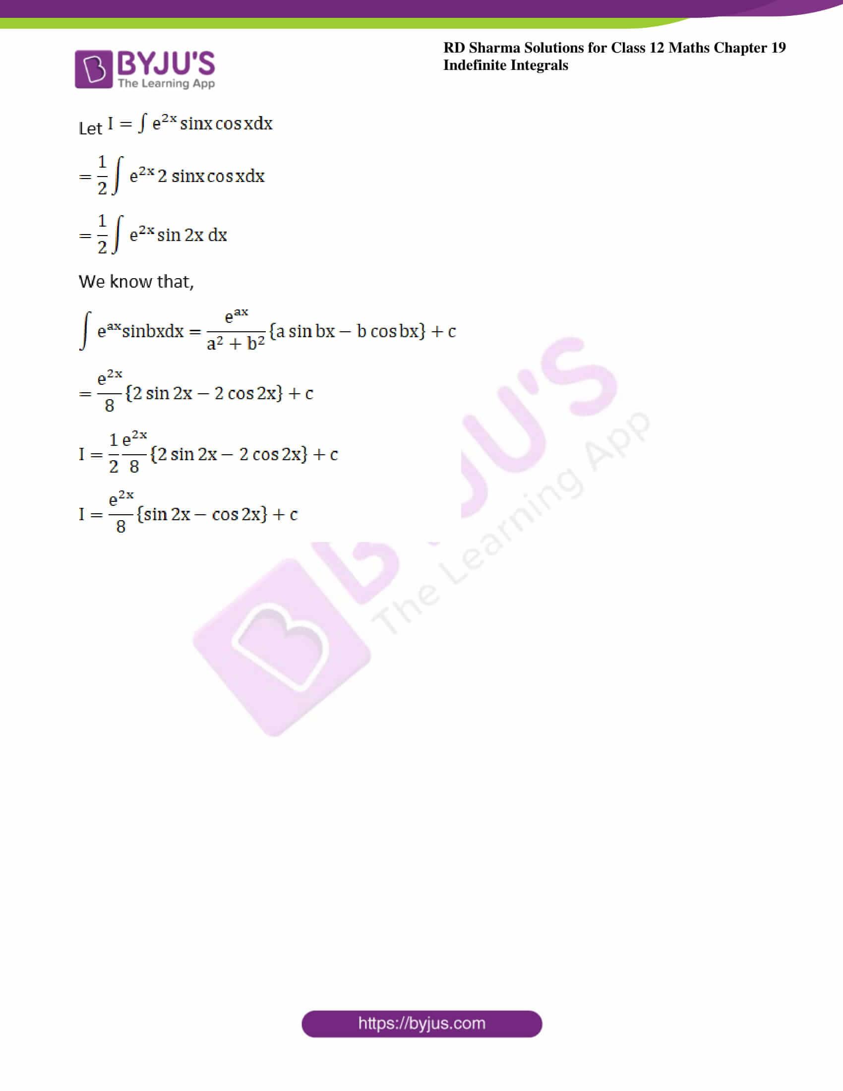 rd sharma class 12 maths solutions chapter 19 ex 27 4