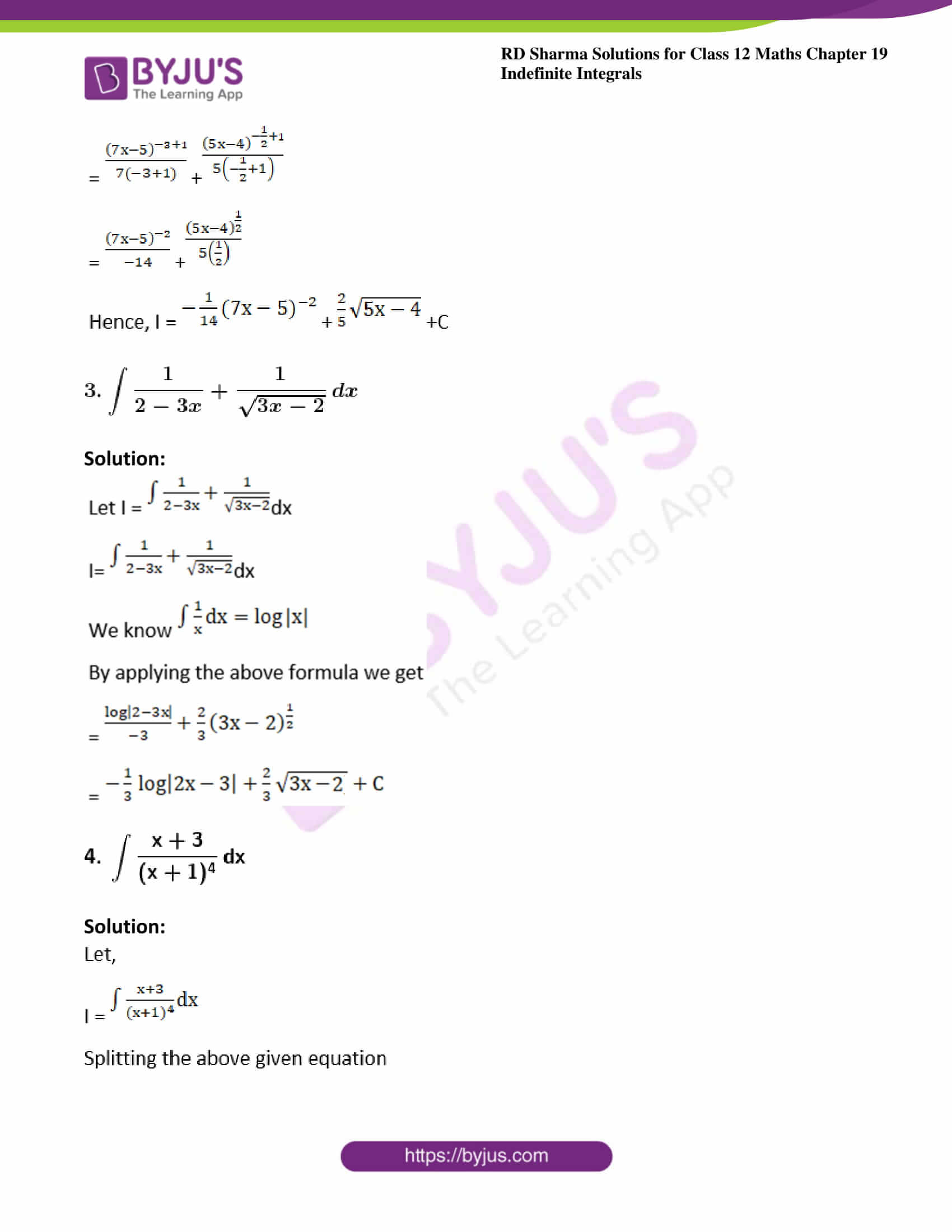 rd sharma class 12 maths solutions chapter 19 ex 3 2