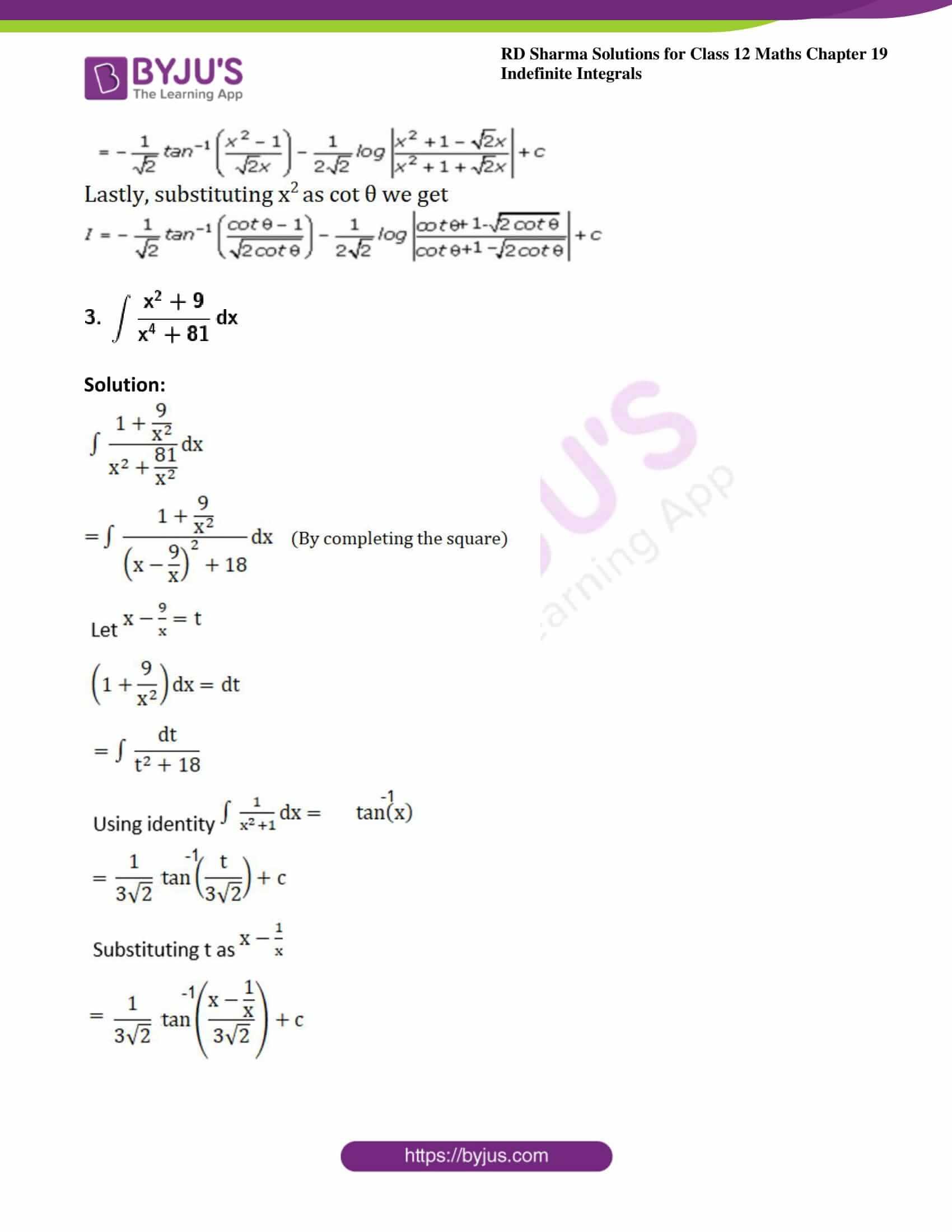rd sharma class 12 maths solutions chapter 19 ex 31 3