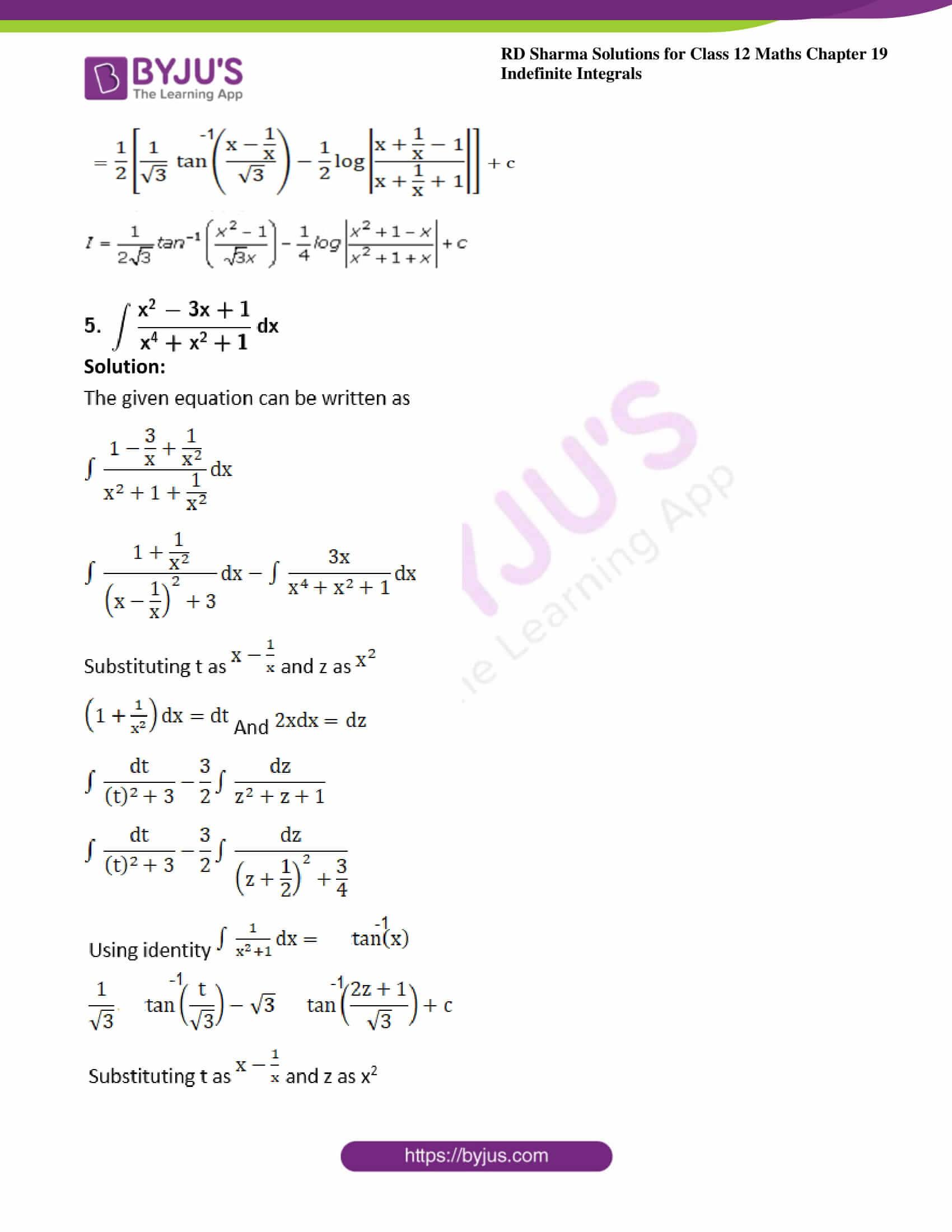 rd sharma class 12 maths solutions chapter 19 ex 31 5