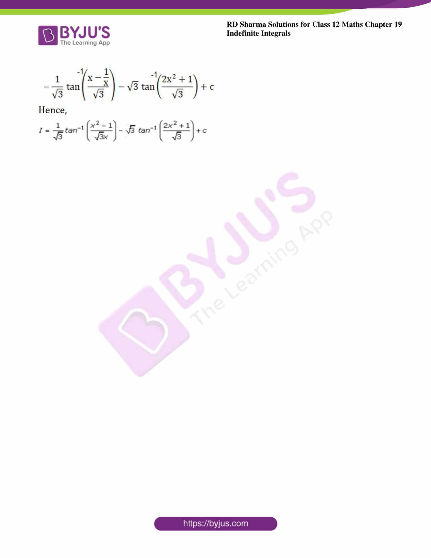 rd sharma class 12 maths solutions chapter 19 ex 31 6
