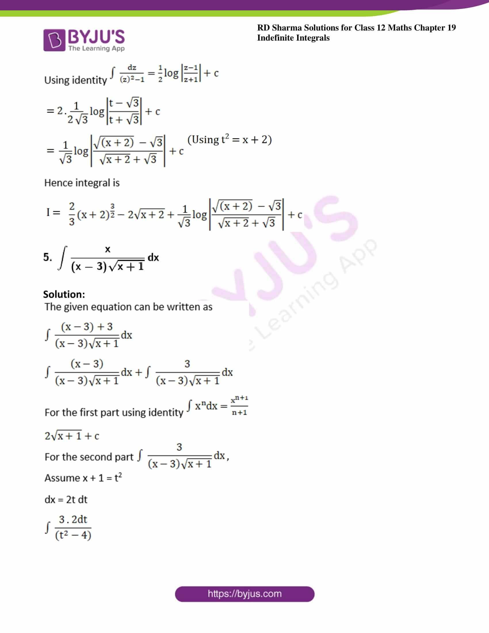 rd sharma class 12 maths solutions chapter 19 ex 32 4