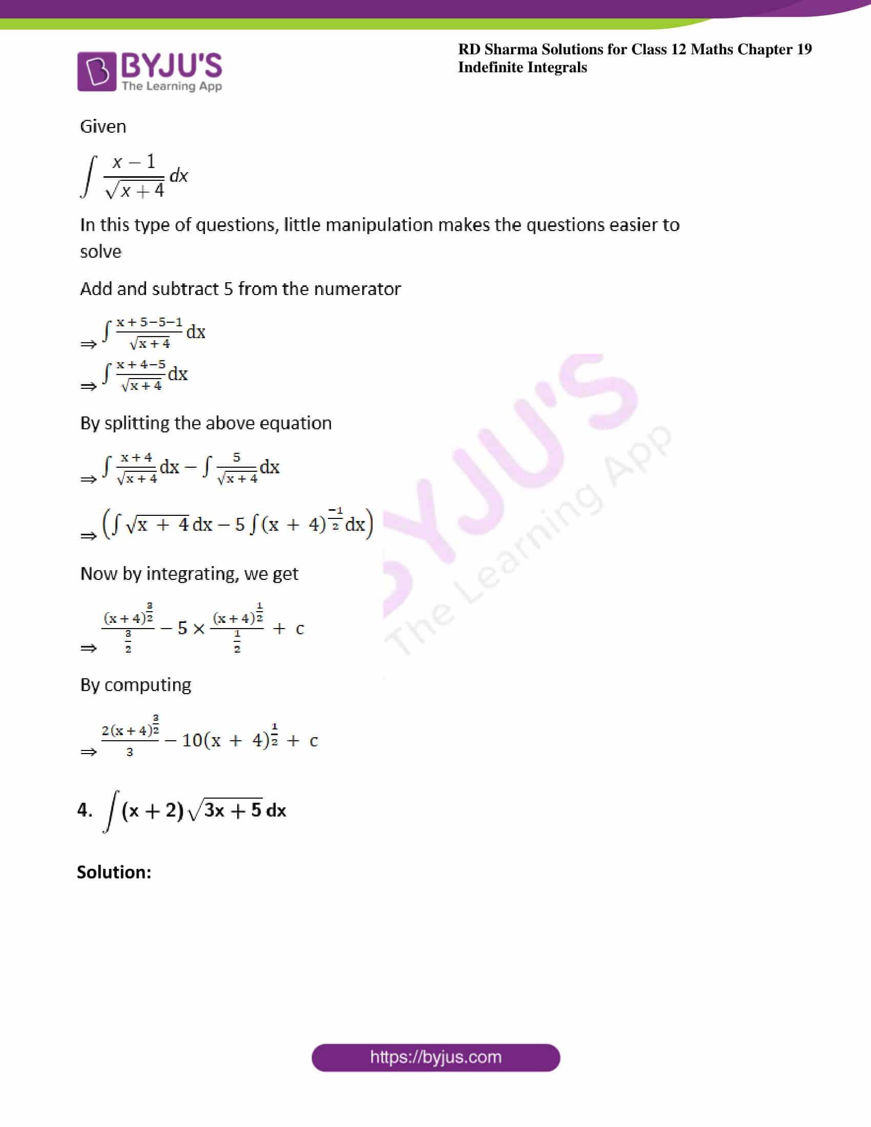rd sharma class 12 maths solutions chapter 19 ex 5 3