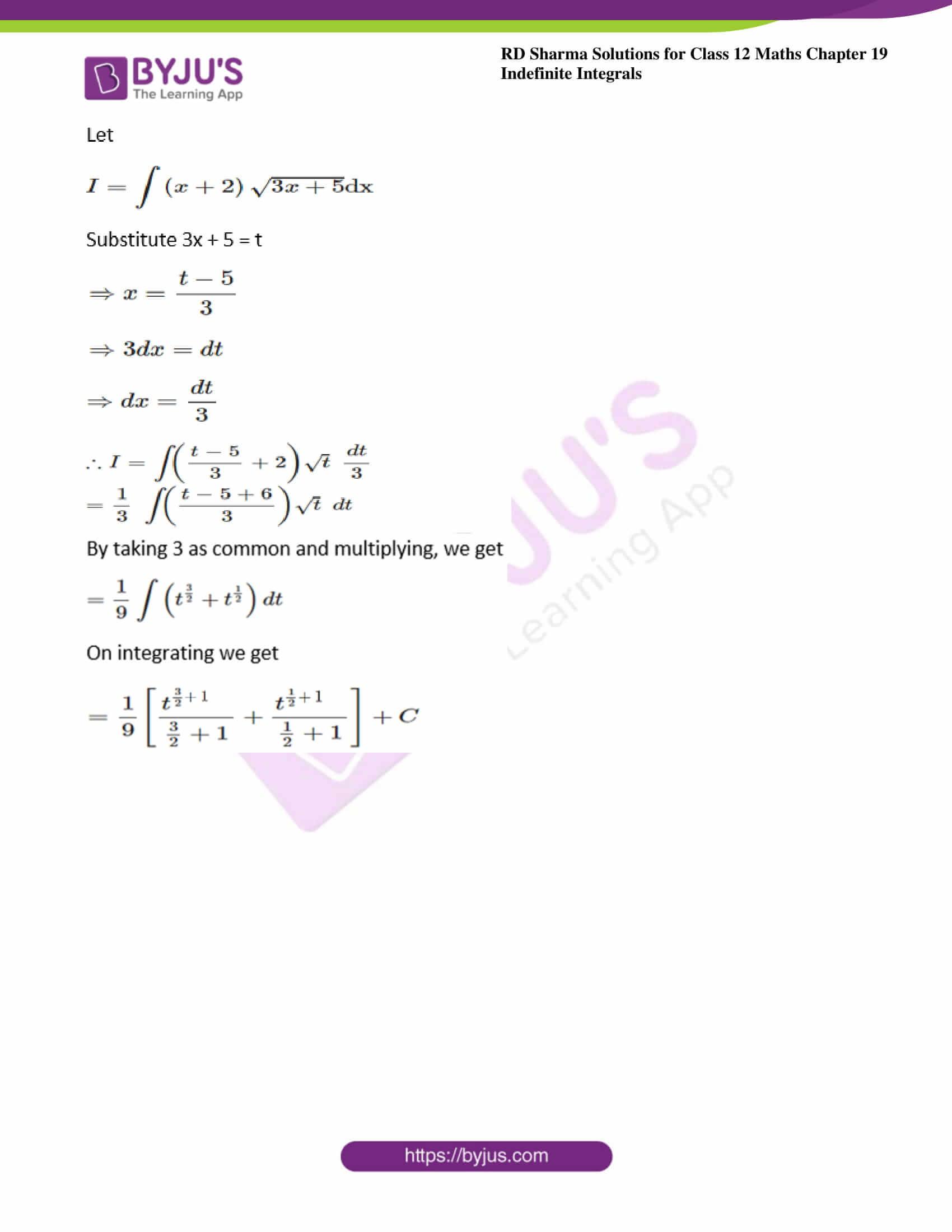 rd sharma class 12 maths solutions chapter 19 ex 5 4