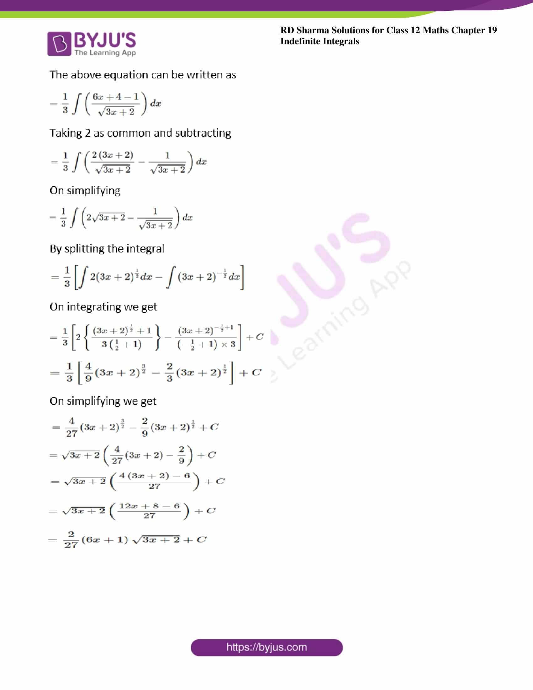 rd sharma class 12 maths solutions chapter 19 ex 5 6