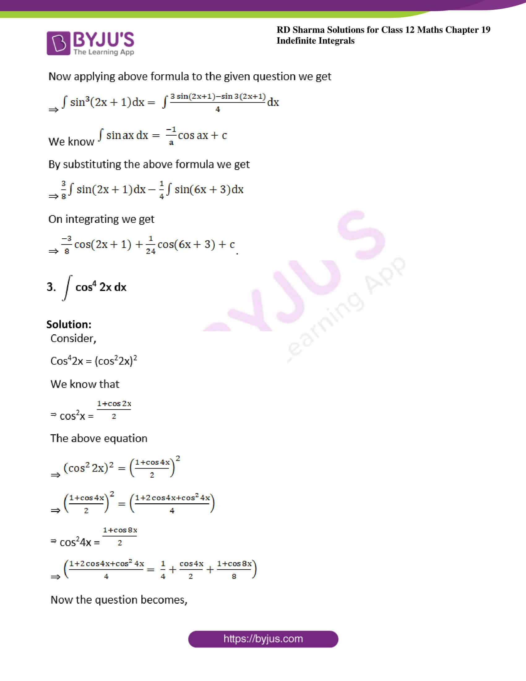 rd sharma class 12 maths solutions chapter 19 ex 6 2