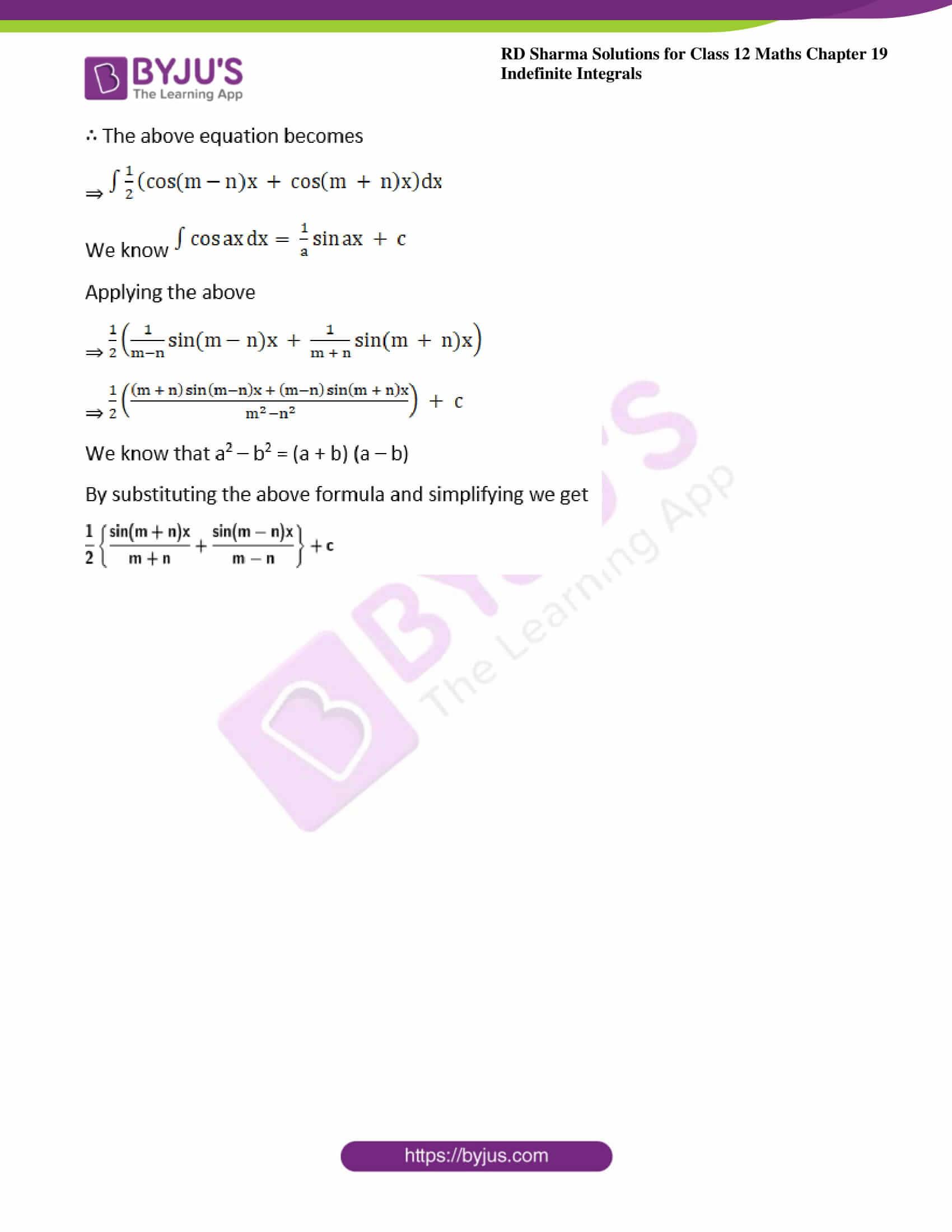rd sharma class 12 maths solutions chapter 19 ex 7 3