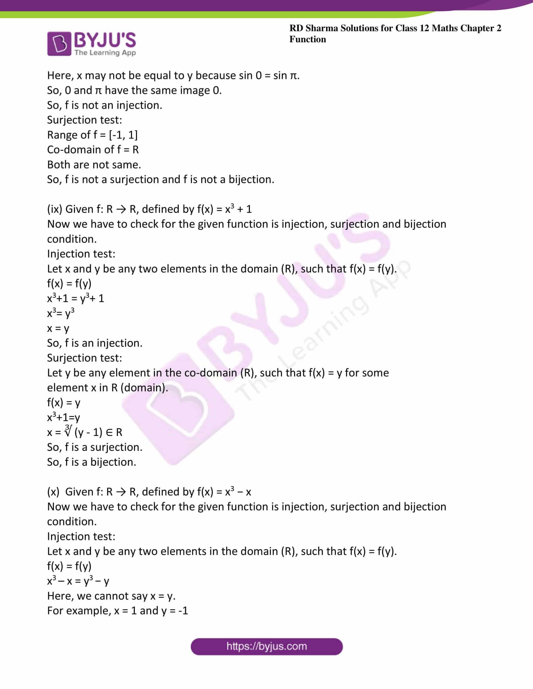 rd sharma class 12 maths solutions chapter 2 ex 1 10