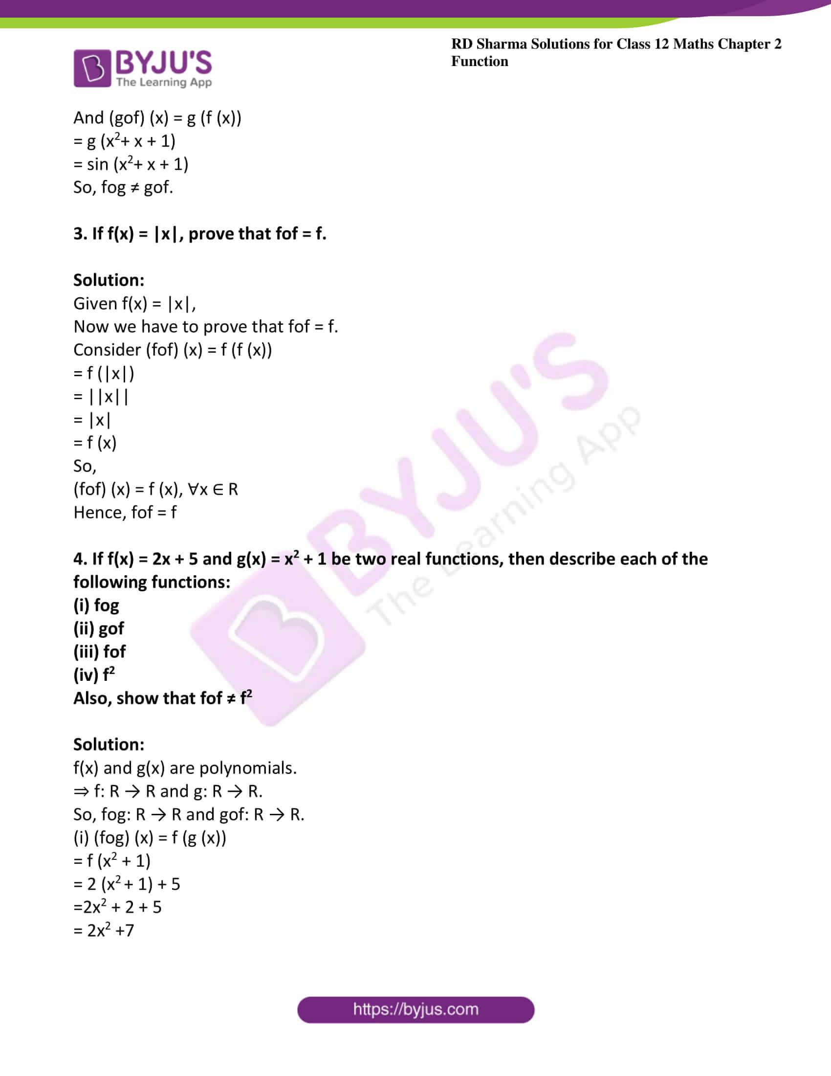 rd sharma class 12 maths solutions chapter 2 ex 3 6