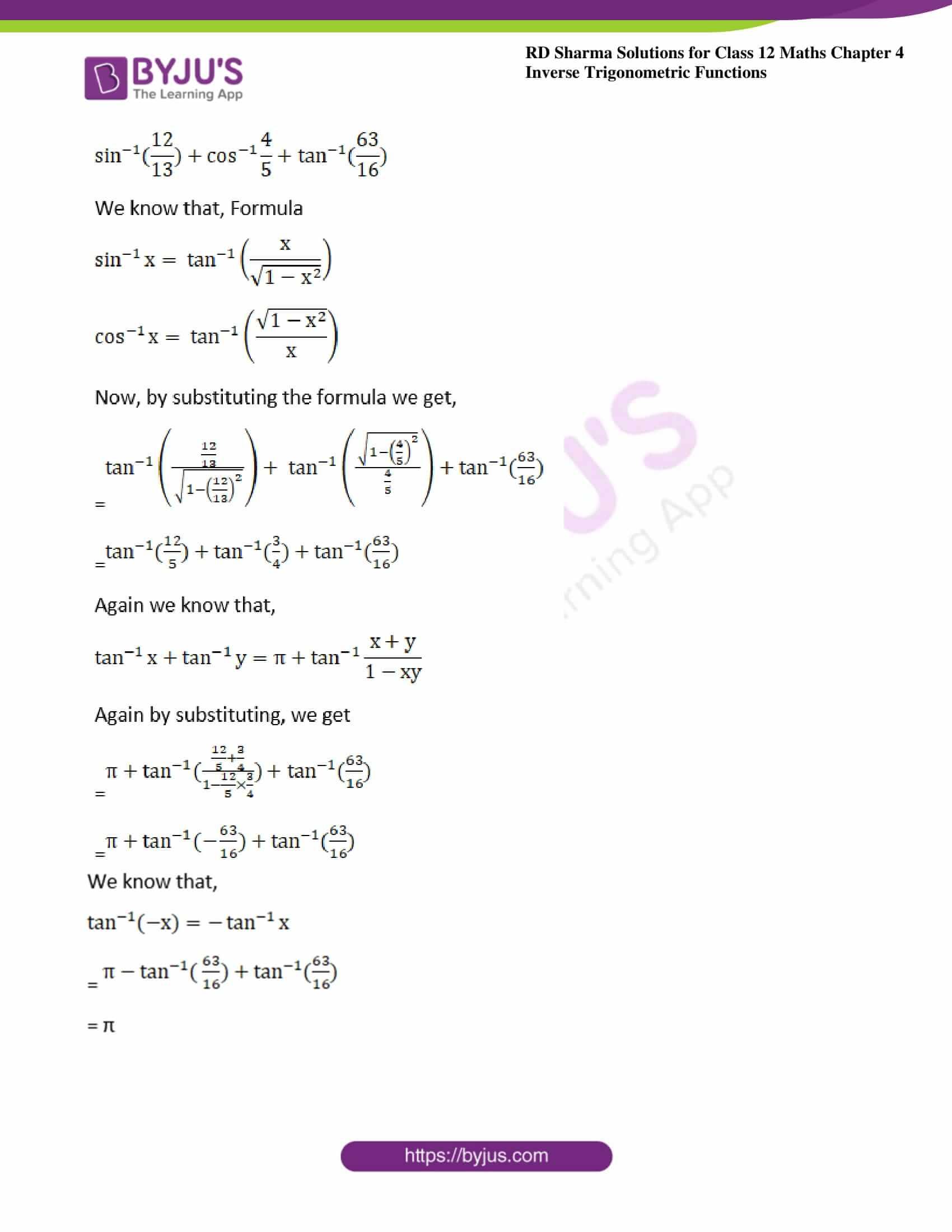 rd sharma class 12 maths solutions chapter 4 ex 11 2