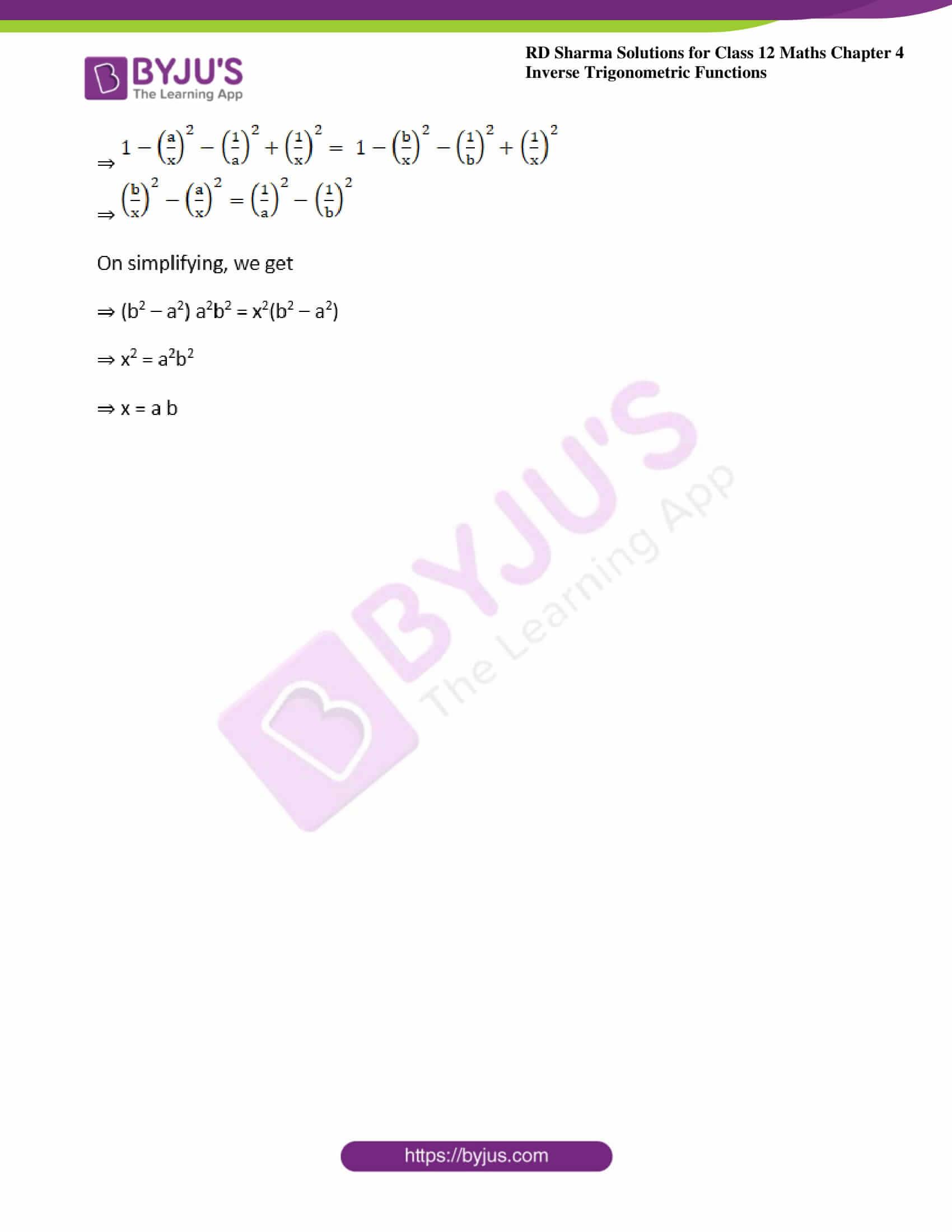 rd sharma class 12 maths solutions chapter 4 ex 13 3