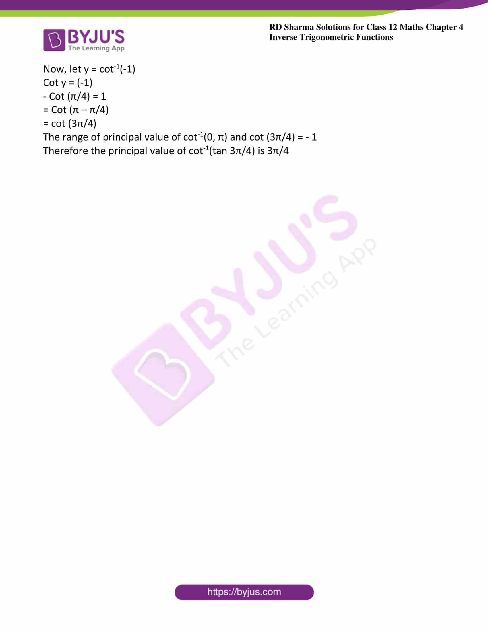 rd sharma class 12 maths solutions chapter 4 ex 6 2