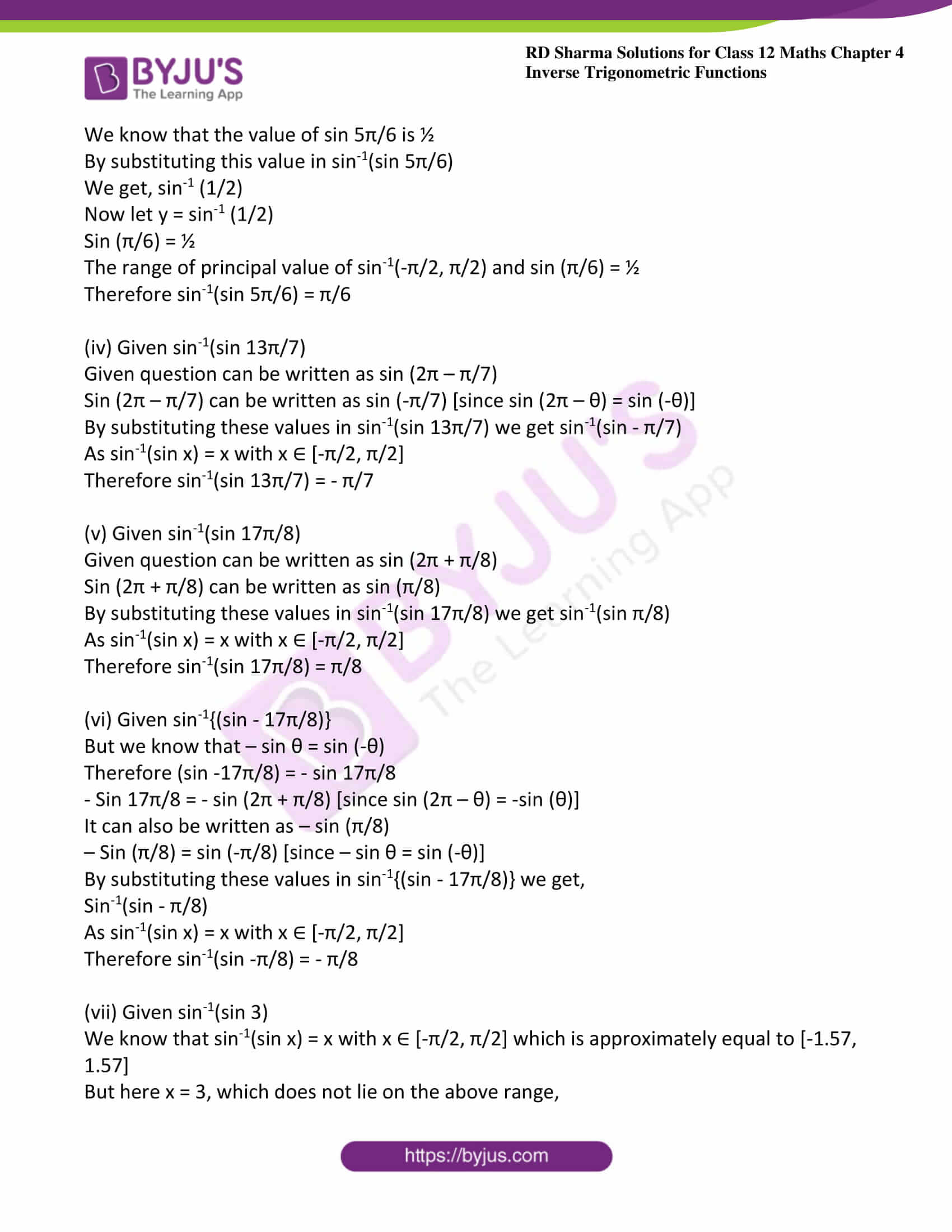 rd sharma class 12 maths solutions chapter 4 ex 7 2