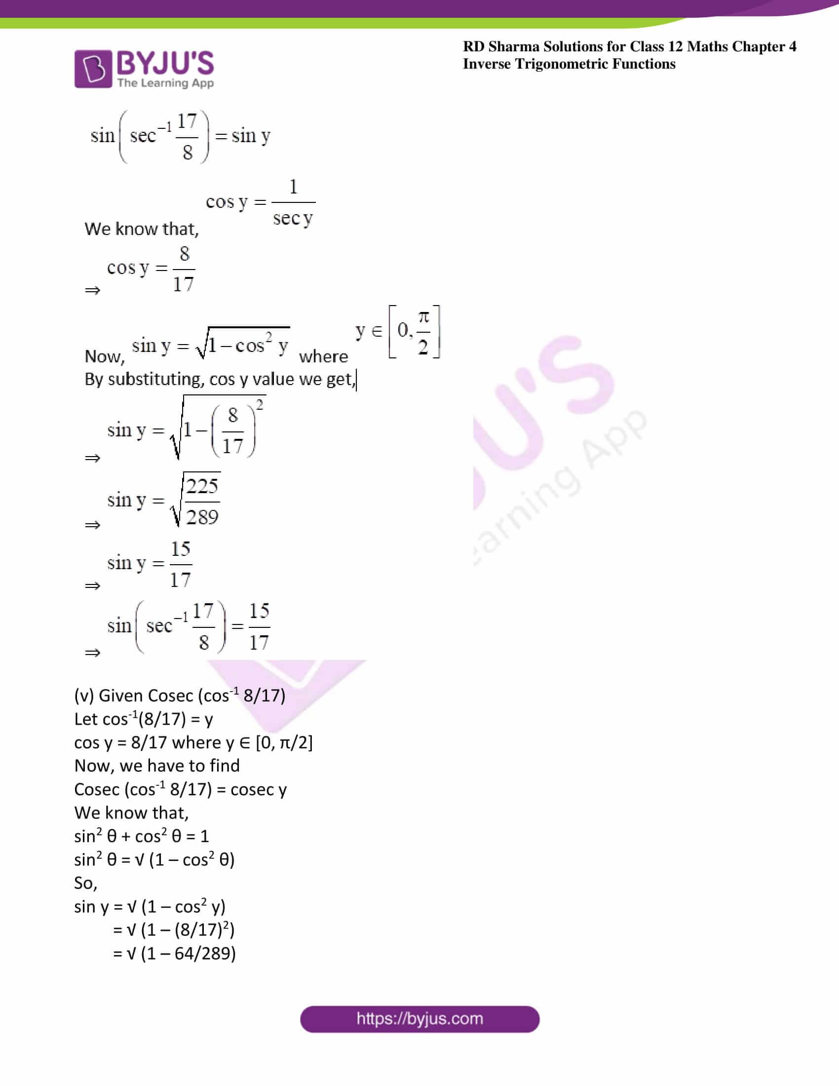 rd sharma class 12 maths solutions chapter 4 ex 8 04