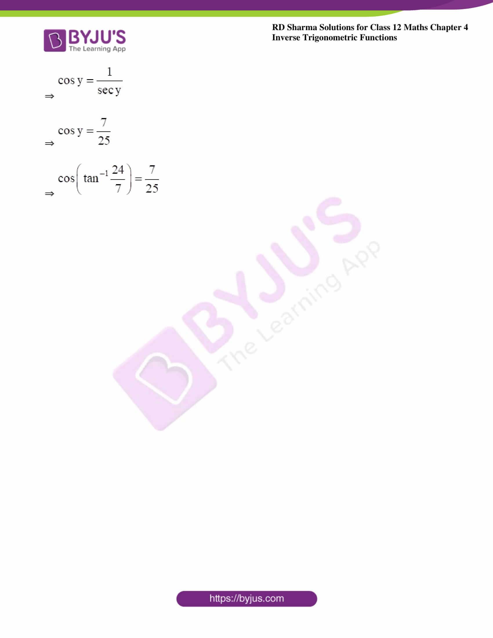 rd sharma class 12 maths solutions chapter 4 ex 8 10
