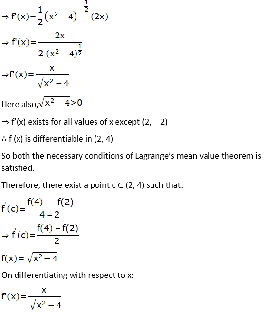 RD Sharma Solutions for Class 12 Maths Chapter 15 Mean Value Theorems Image 110
