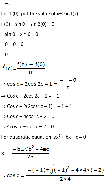 RD Sharma Solutions for Class 12 Maths Chapter 15 Mean Value Theorems Image 119