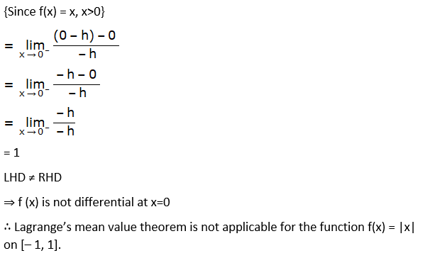 RD Sharma Solutions for Class 12 Maths Chapter 15 Mean Value Theorems Image 125