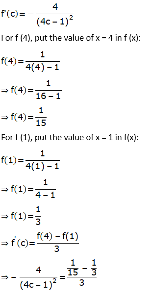RD Sharma Solutions for Class 12 Maths Chapter 15 Mean Value Theorems Image 130