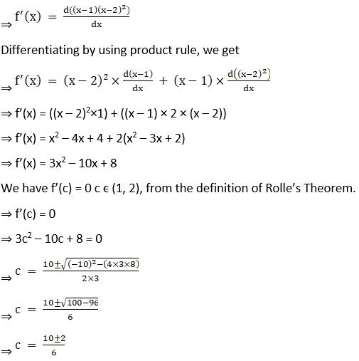 RD Sharma Solutions for Class 12 Maths Chapter 15 Mean Value Theorems Image 16