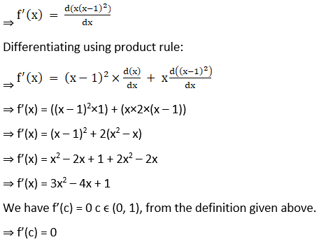 RD Sharma Solutions for Class 12 Maths Chapter 15 Mean Value Theorems Image 18