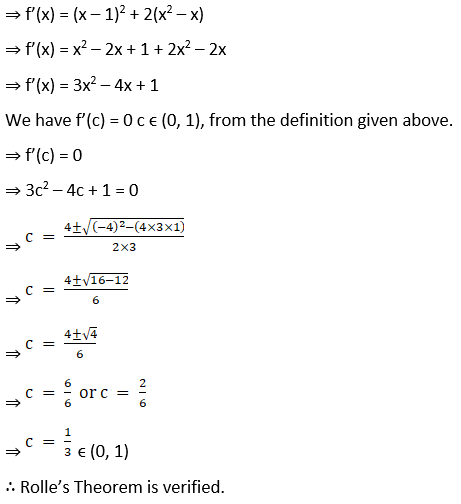 RD Sharma Solutions for Class 12 Maths Chapter 15 Mean Value Theorems Image 19