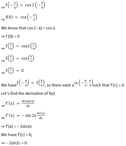 RD Sharma Solutions for Class 12 Maths Chapter 15 Mean Value Theorems Image 33