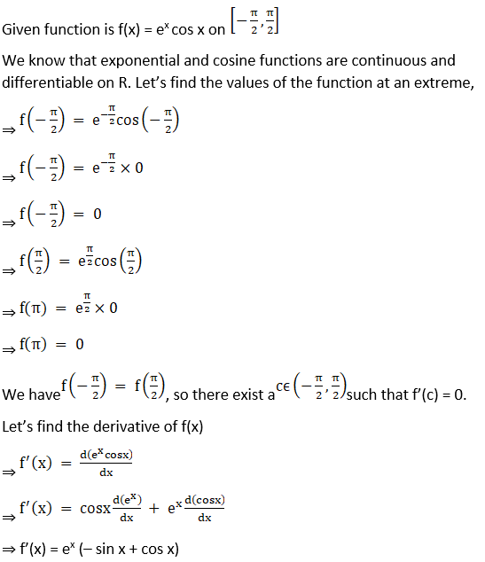 RD Sharma Solutions for Class 12 Maths Chapter 15 Mean Value Theorems Image 37