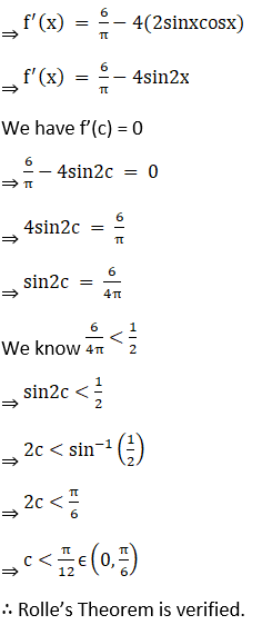 RD Sharma Solutions for Class 12 Maths Chapter 15 Mean Value Theorems Image 63