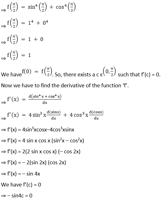 RD Sharma Solutions for Class 12 Maths Chapter 15 Mean Value Theorems Image 68