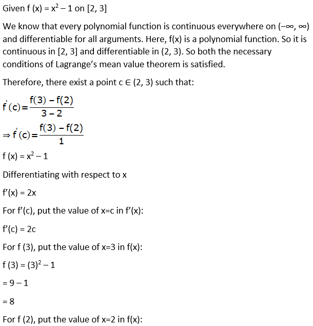 RD Sharma Solutions for Class 12 Maths Chapter 15 Mean Value Theorems Image 72