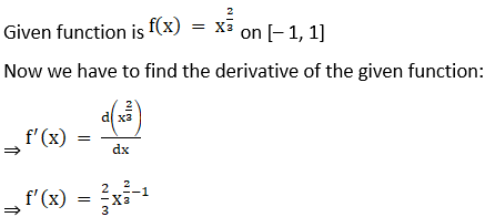 RD Sharma Solutions for Class 12 Maths Chapter 15 Mean Value Theorems Image 8