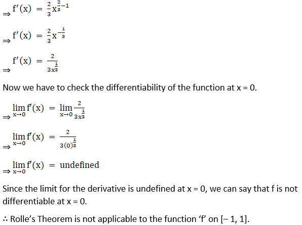 RD Sharma Solutions for Class 12 Maths Chapter 15 Mean Value Theorems Image 9