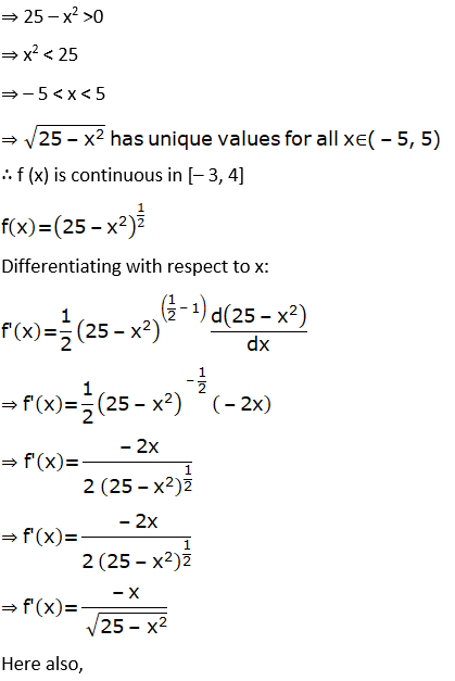 RD Sharma Solutions for Class 12 Maths Chapter 15 Mean Value Theorems Image 91