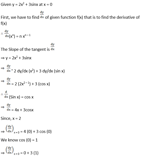 RD Sharma Solutions for Class 12 Maths Chapter 16 Tangents and Normals Image 10