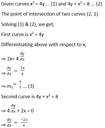 RD Sharma Solutions for Class 12 Maths Chapter 16 Tangents and Normals Image 110