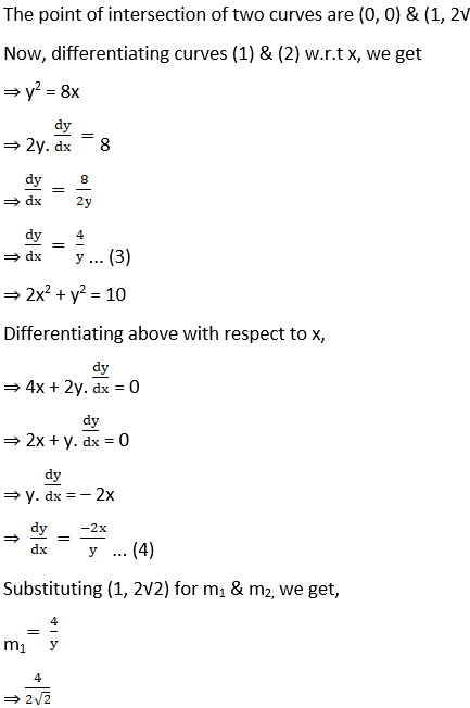 RD Sharma Solutions for Class 12 Maths Chapter 16 Tangents and Normals Image 115