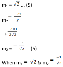 RD Sharma Solutions for Class 12 Maths Chapter 16 Tangents and Normals Image 116