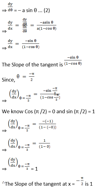 RD Sharma Solutions for Class 12 Maths Chapter 16 Tangents and Normals Image 14