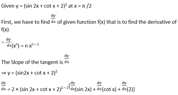 RD Sharma Solutions for Class 12 Maths Chapter 16 Tangents and Normals Image 23