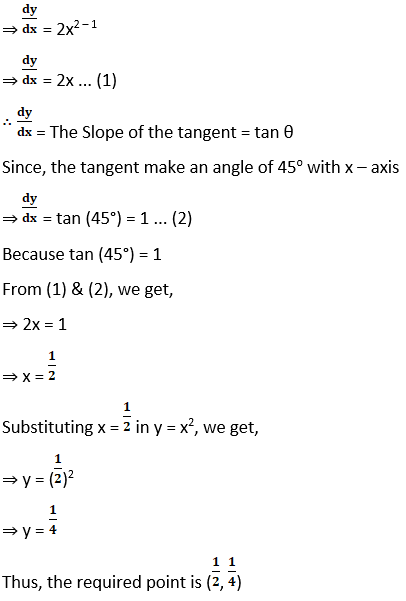 RD Sharma Solutions for Class 12 Maths Chapter 16 Tangents and Normals Image 46