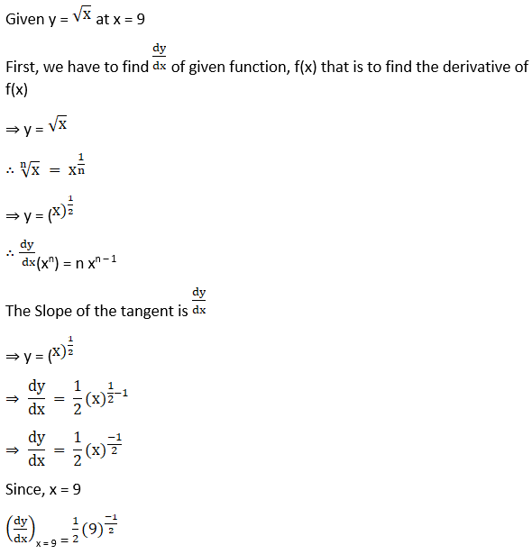 RD Sharma Solutions for Class 12 Maths Chapter 16 Tangents and Normals Image 5