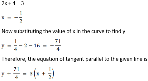 RD Sharma Solutions for Class 12 Maths Chapter 16 Tangents and Normals Image 75